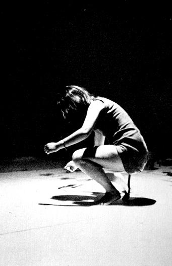 Shigeko Kubota. Vagina Painting (1965)